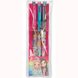 Push Pencils with Eraser by Depesche (Set of 3) in packaging