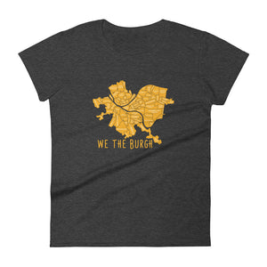 Women's We the Burgh short sleeve t-shirt