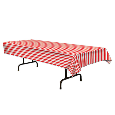 "Striped Tablecover, Size 54"" x 108"""
