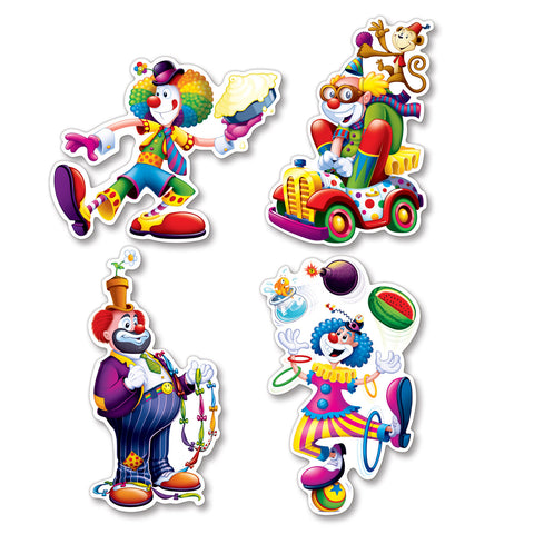 "Clown Recortes, Size 12¼""-14"""