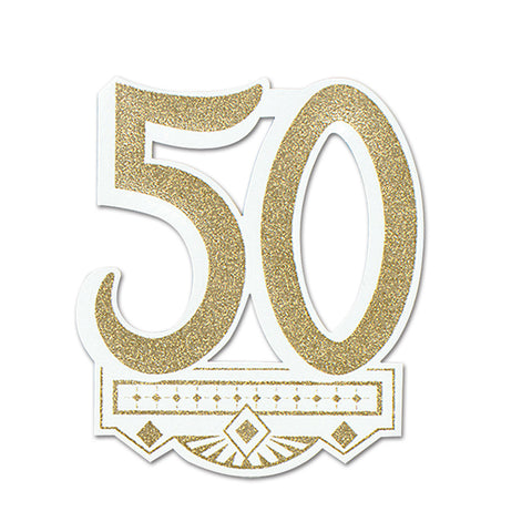 50th Anniversary Crest, Size 14""