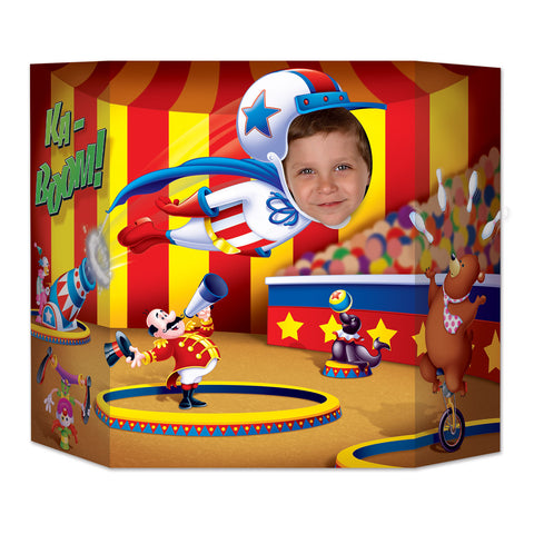 "Circus Photo Prop, Size 3' 1"" x 25"""