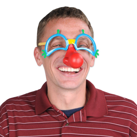 Clown Glasses w/Nose