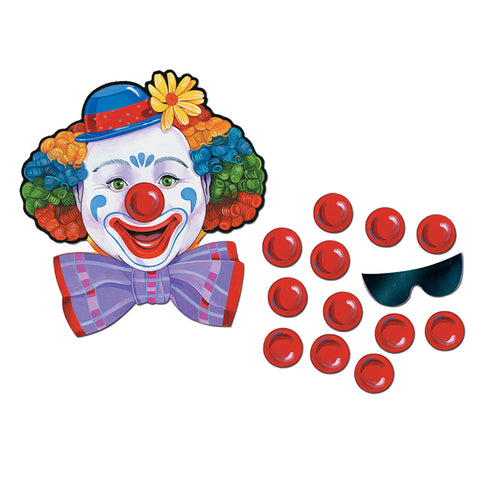 "Circus Clown Game, Size 17½"" x 16½"""