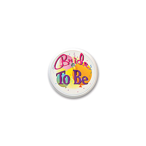 Bride To Be Blinking Button, Size 2""
