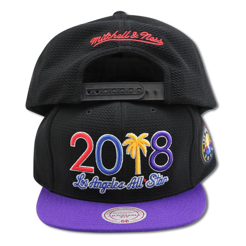 "2018 ALLSTAR GAME ""LOS ANGELES -MITCHELL & NESS SNAPBACK"