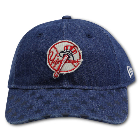 YANKEES NEW ERA  9TWENTY AMERICANA JEANS DAD HAT