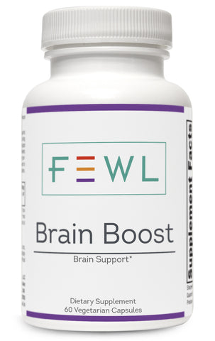FEWL Brain Boost has 3x more active ingredients than competitors