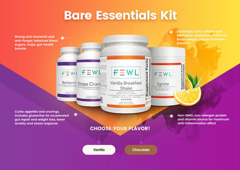 Bare Essentials Weight Loss Kit - Vanilla