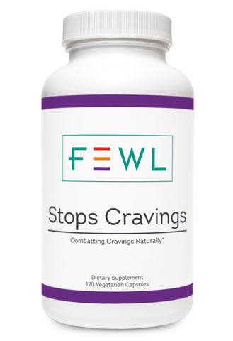 Supports Serotonin levels to lower cravings for sweets, alcohol, drugs