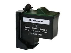 Remanufactured Lexmark 10N0016 Ink Cartridges (Lexmark 16, 17, Black)