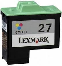 Remanufactured for Lexmark 26 & 27 (Lexmark 10N0026, 10N0227 Color)