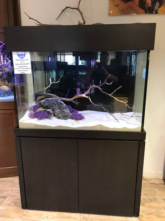130 Gallon AGE Aquarium