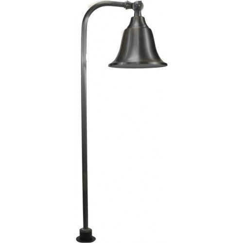 Orbit B114 Solid Brass Bell Landscape Path Light