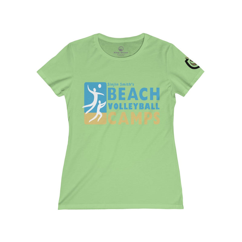 Queen Of The Beach® Sinjin Smith's Beach Volleyball Camps Women's Tee