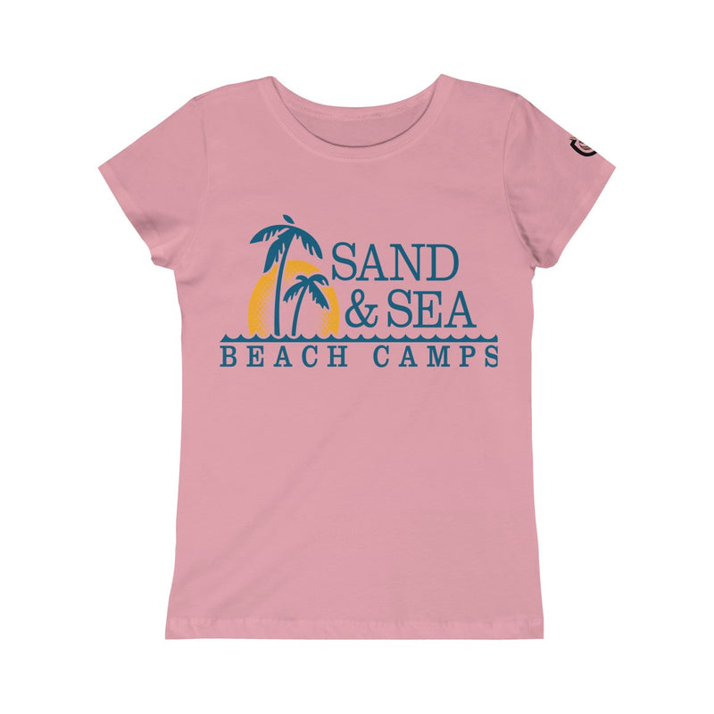 Queen Of The Beach™ Sand & Sea Beach Camps Collection Girls' Tee