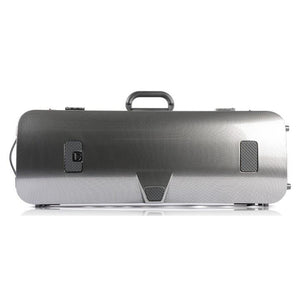 Bam Hightech Compact Viola Case Silver Carbon