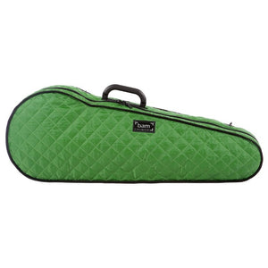 Bam Green Hightech Contoured Viola Case Hoody Front