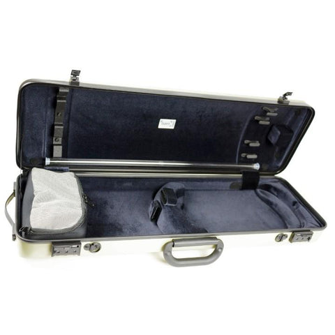 Image of yellow bam hightech violin case