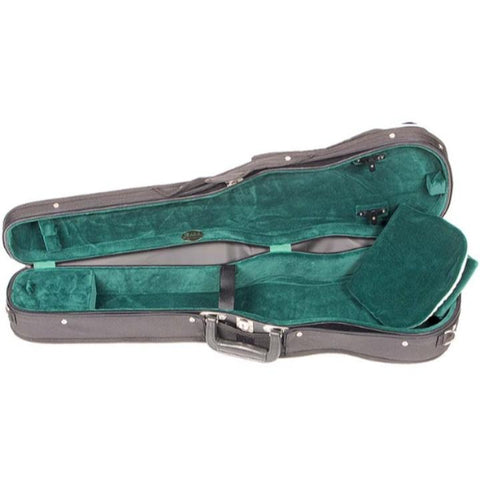Shaped Violin Case Green