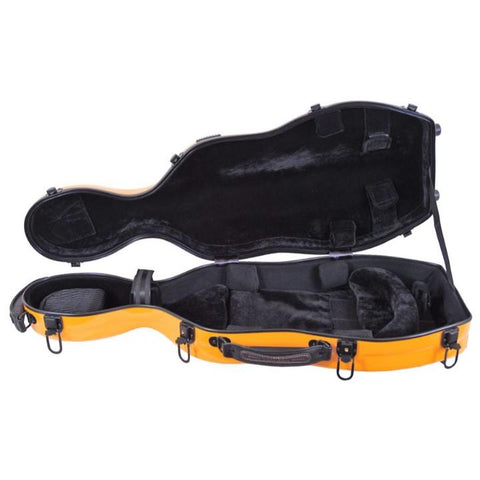 Image of Orange Fiberglass Viola Case