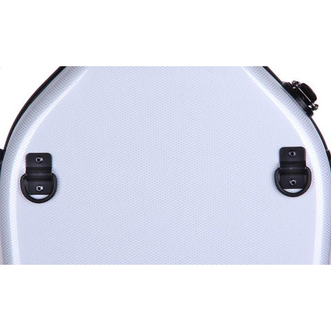 Image of white fiberglass viola case