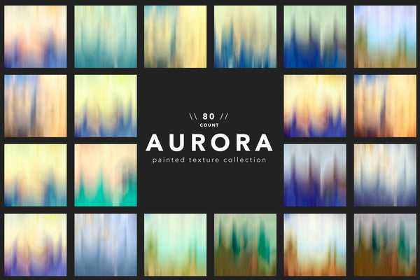 Aurora Painted Texture Collection