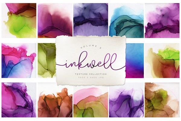 Inkwell Paper Textures Volume 2
