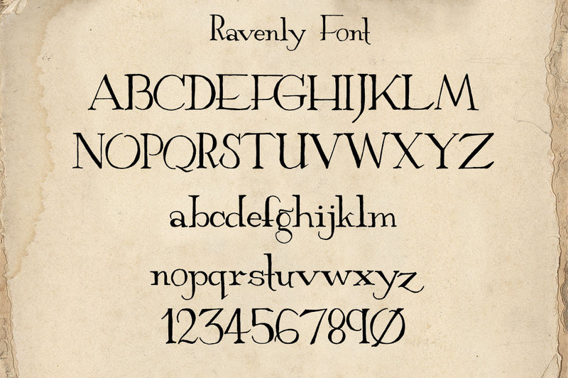Ravenly Hand Written Font