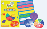 Clearance - Smart Maths Fractions book & Manipulatives Set - singapore-books