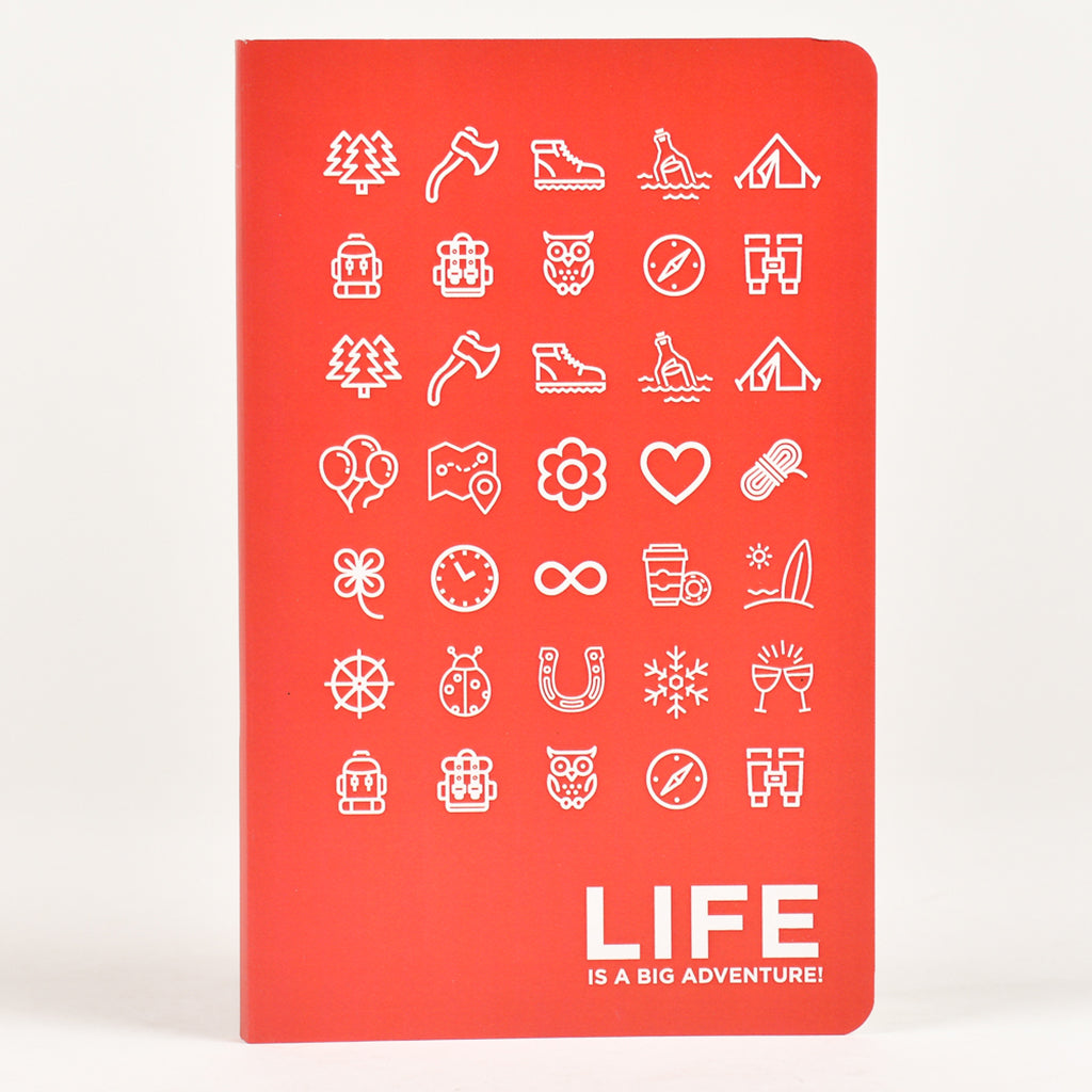 Notebook-Life is a big adventure