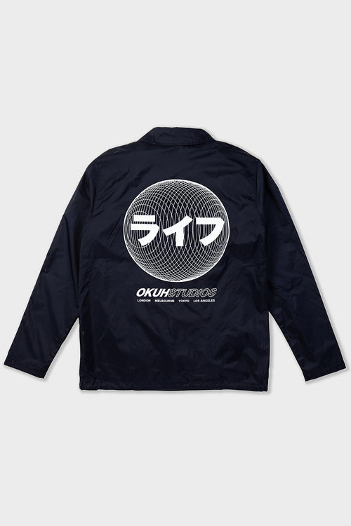 Orb Patch Coach Jacket - okuhstudios