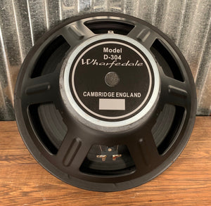 "Wharfedale Pro LA Series D-304 15"" 400 Watt 8 Ohm Replacement Bass Woofer Speaker"