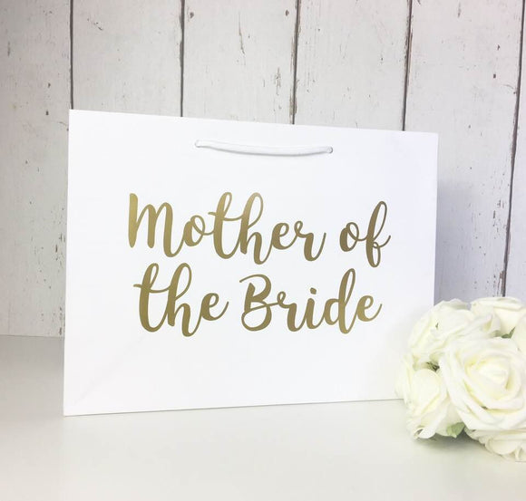 Mother of the Bride Gift • Mother of the Bride Gift Bag • Mother of the Bride Bag• Wedding Gift Bags• Thank You Flower Girl• Bridesmaid Gift