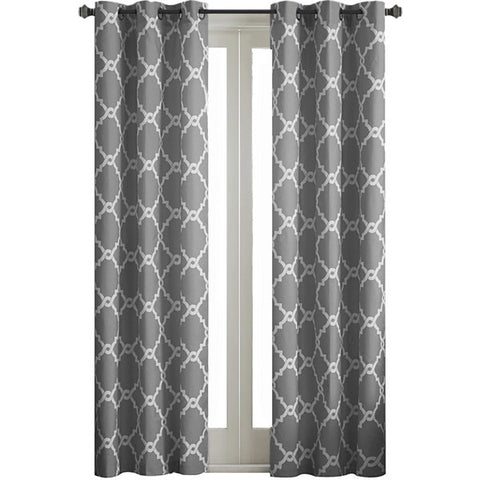Almaden Printed Fret Grommet-Top Panel- Grey