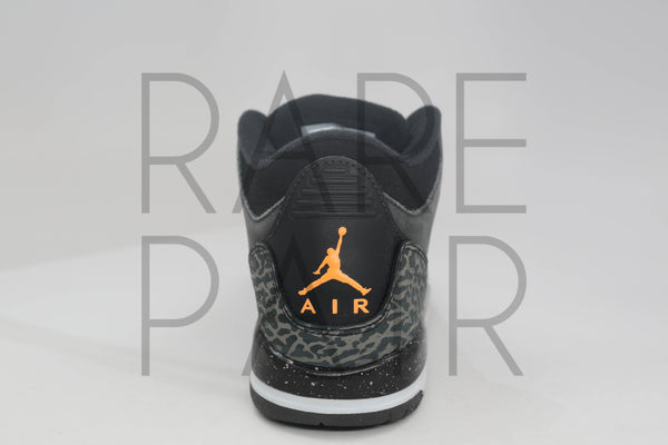 "Air Jordan 3 Retro (GS) ""Fear"" - Rare Pair"