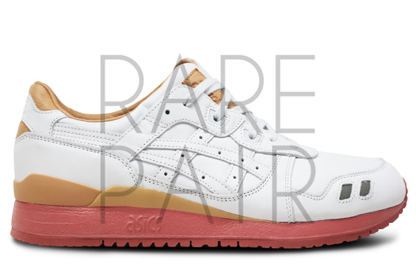 "Gel-Lyte III ""1907 Collection: Packer Shoes x J. Crew: White Buck"" - Rare Pair"
