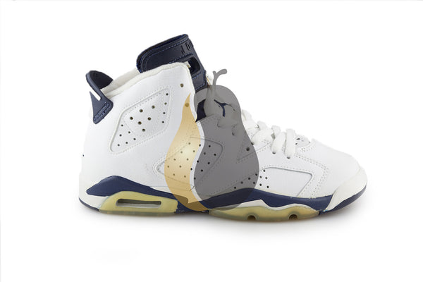 "Air Jordan 6 Retro+ (BG) ""2000 Midnight"" - Rare Pair"