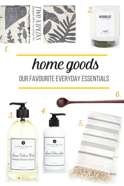 Home Goods | Our favourite home essentials