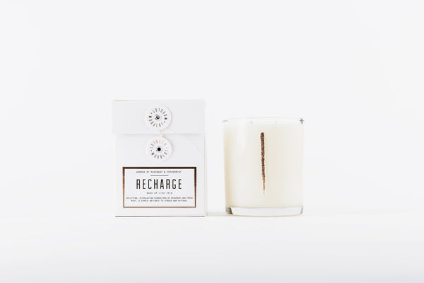 Woodlot Candle | Recharge