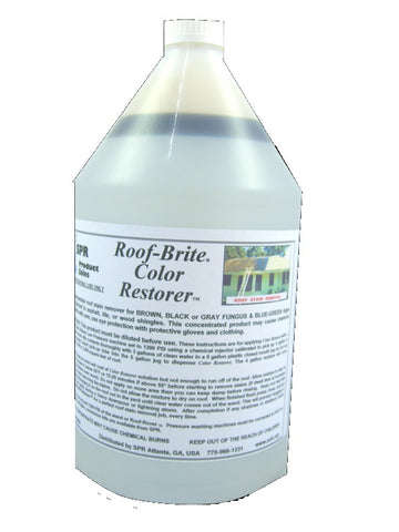 Color Restorer - Roof Stain and Streak Remover