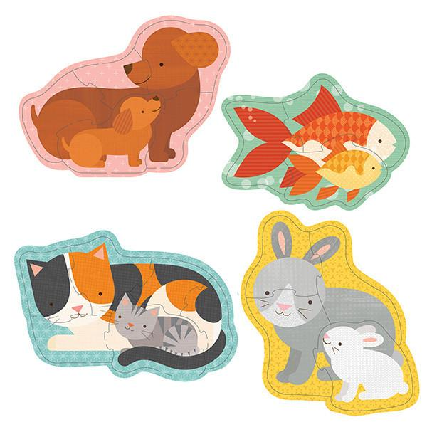 Petit Collage Beginner Puzzles  Pets - Petit Collage - Little Earth Nest - 3