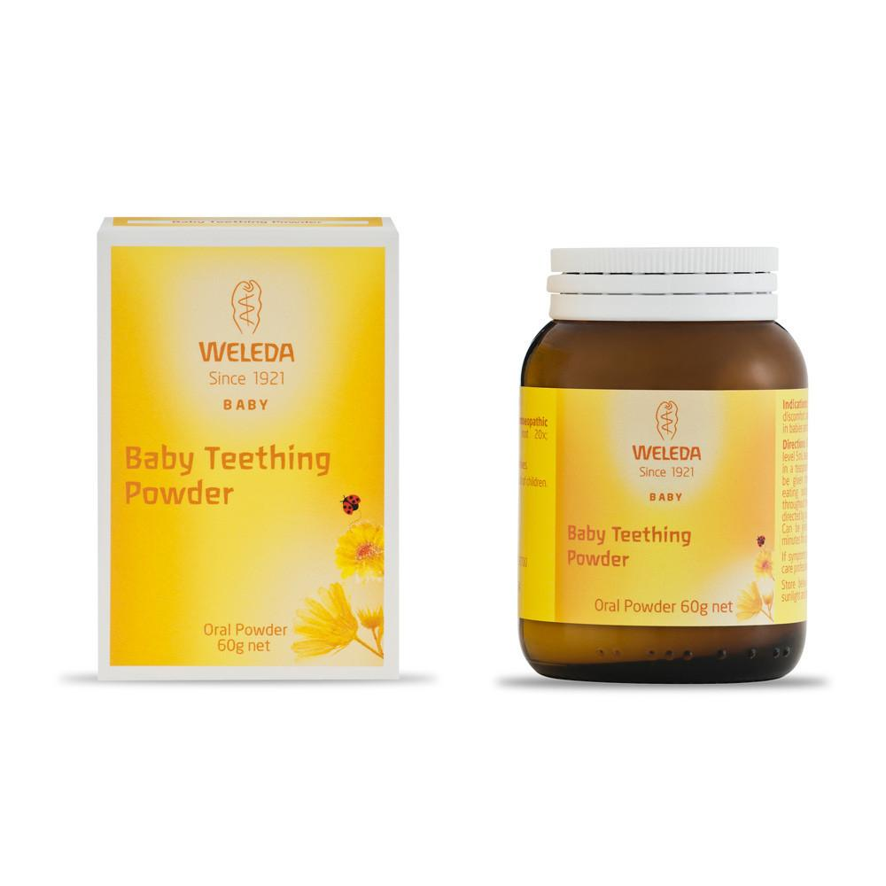 Weleda Baby Teething Powder 60g   - Weleda - Little Earth Nest