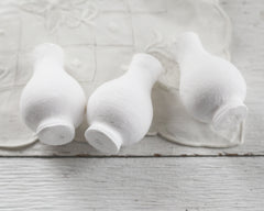 Spun Cotton Vase - 72mm Specialty Craft Shapes, 3 Pcs.