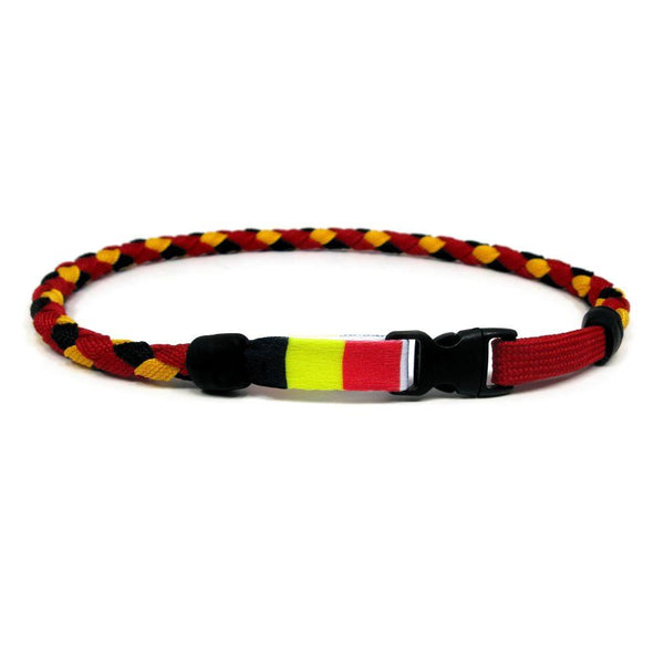 Belgium Soccer Necklace - Swannys