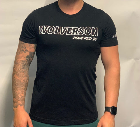 Powered By Wolverson T-Shirt - Wolverson Fitness