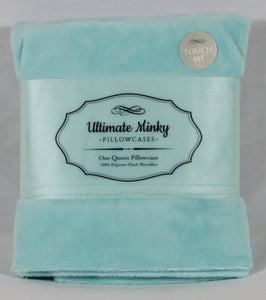 Aqua Ultimate Minky Pillowcase