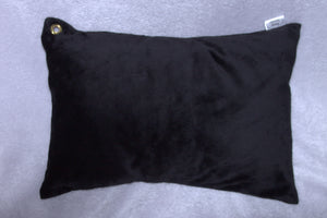 Black Travel Pillowcase