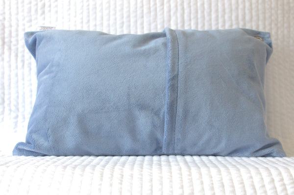 Blue Denim Travel Pillowcase