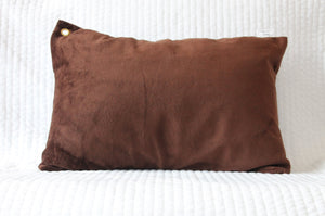 Brown Travel Pillowcase